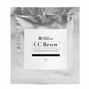 Хна для бровей CC Brow (black) в саше (черный), 5гр.