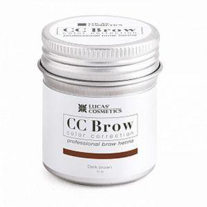 Хна для бровей CC Brow (brown) в баночке (коричневый), 5гр.