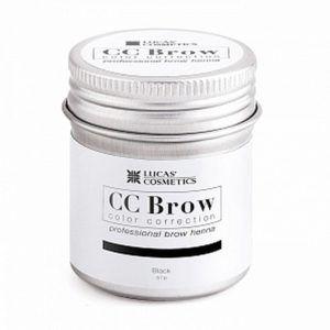 Хна для бровей CC Brow (black) в баночке (черный), 5гр.