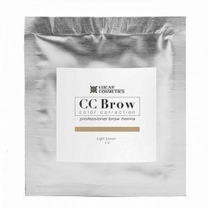 Хна для бровей CC Brow (light brown) в саше (светло-коричневый), 5гр.