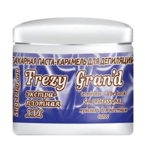 """Сахарная паста для шугаринга """"Экстра Плотная """" MEN, 750гр. Frezy Grand"""