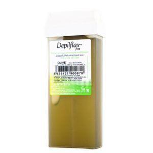 """Воск в картридже """"Оливковый"""" (прозрачный) для чувств кожи, смягчает и увлажняет, 110мл. Depiflax"""