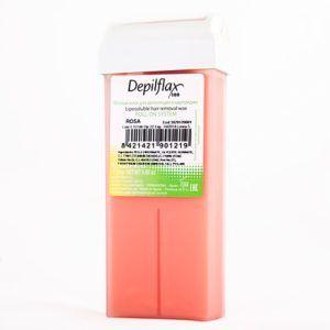 """Воск в картридже """"Розовый"""" (средней плотности) для чувств кожи, 110мл. Depiflax"""