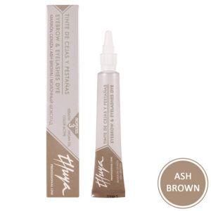 "Краска для бровей и ресниц ""Ash Brown"" (молочный шоколад) 14мл., Thuya"
