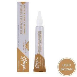 """Краска для бровей и ресниц """"Light Brown"""" (светло-коричневый) 14мл., Thuya"""