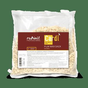 Воск пленочный для депиляции в гранулах Cardi (аромат: «Натуральный»), 500гр. Runail