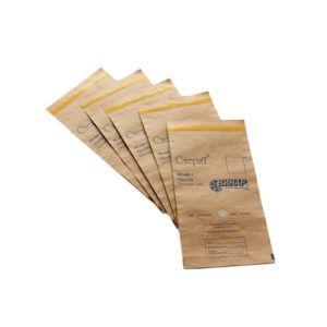 Крафт пакеты для стерилизации коричневые 75*150мм (100 шт) RuNail