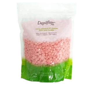 Воск пленочный в гранулах Depilflax, розовый, 1000гр