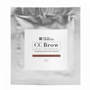 Хна для бровей в саше (коричневый), 5гр., CC Brow