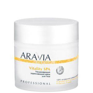 Крем увлажняющий укрепляющий Vitality SPA, 300мл. Aravia
