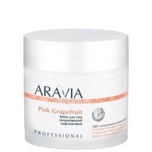 Крем для тела увлажняющий лифтинговый Pink Grapefruit, 300мл. Aravia