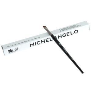 Профессиональная кисть Michelangelo для ресниц и бровей InLei