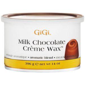 Воск в банке Milk Chocolate Creme Wax (с ароматом молочного шоколада), 396г, GiGI
