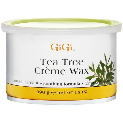 Воск в банке The Tree Creme Wax (с маслом чайного дерева), 396г, GiGI