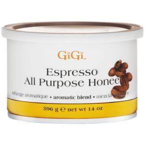 Воск в банке Espresso All Purpose Honey (медовый с ароматом кофе), 396г, GiGI