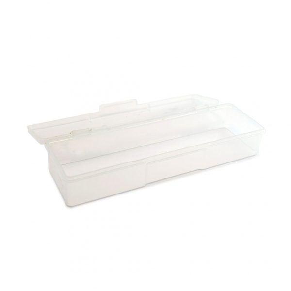 Пластиковый контейнер прямоугольный TNL прозрачный