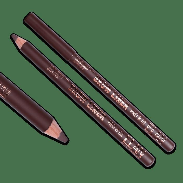 Карандаш пудровый для бровей ELAN BROW LINER PRO 01 medium brown