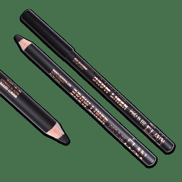 Карандаш пудровый для бровей ELAN BROW LINER PRO 02 dark brown
