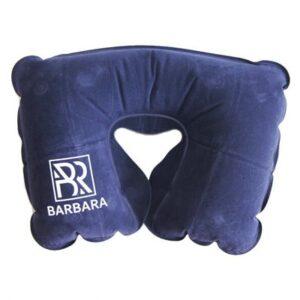 Подушка надувная Barbara, синяя